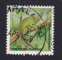 Uganda: 1996/98   Reptiles  SG1515    150/-    Used - Uganda (1962-...)