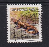 Uganda: 1996/98   Reptiles  SG1520a   600/-    Used - Uganda (1962-...)