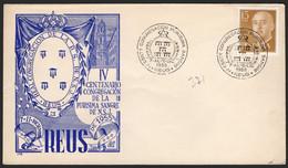 """España - Edi O 1144 - Mat Gomis 371 """"Reus 7-11/12/55 - IV Centenario Congregación De La Purísima Sangre"""" - 1951-60 Lettres"""