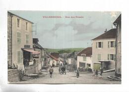 70 - VILLERSEXEL - Rue Des Fossés.Carte Couleurs - Autres Communes