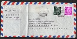 """España - Edi O 1145 - 1158 - Sobre De """"Puerto De La Cruz 12/1/59"""" A África Del Sur - 1951-60 Lettres"""