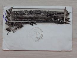 Israel Vue De JERUSALEM TURQUIE TURKEY Stamp Circulate Postcard  Circuler  Litho - Israel