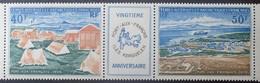 R2441/48 - 1971 - T.A.A.F. - POSTE AERIENNE - Triptyque N°26A TIMBRES NEUFS** - Corréo Aéreo