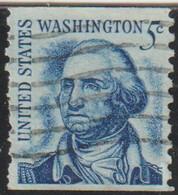 USA 1966 Scott 1304 Sello º Presidente 1º George Washington (22/1/1732-14/12/1799) Michel 895Cyb Yvert 796a(B) US - Usados