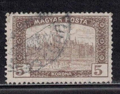 HUNGARY Scott # 196 Used - Parliament Buildings - Gebraucht