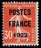 France Préoblitérés YT N° 38 Neuf ** MNH. Signé Brun. TB. A Saisir! - 1893-1947