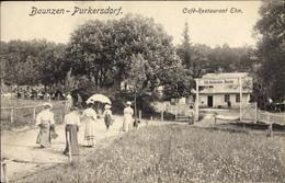 CPA Purkersdorf In Niederösterreich, Baunzen, Cafe Restaurant Ehn, Spaziergänger - Other