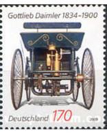 Ref. 223521 * MNH * - GERMAN FEDERAL REPUBLIC. 2009. 175th ANNIVERSARY OF GOTTLIEB DAIMLER . 175 ANIVERSARIO DE GOTTLIEB - Automobili