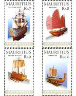 Ref. 192047 * MNH * - MAURITIUS. 2005. MODEL SHIPS . MAQUETAS DE BARCOS - Maurice (1968-...)
