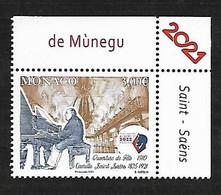 Monaco 2021 - Camille Saint Saëns ** - Unused Stamps