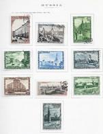 95278) RUSSIA -LOTTO DI FRANCOBOLLI -USATI-MLH*-1947 - Gebraucht