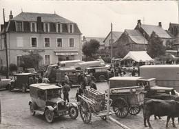 15 VALUEJOLS   JOUR DE MARCHE AUX VEAUX  VERS 1960 - Other Municipalities