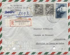 926PR/ Portugal Registered Air Mail Cover Lisboa 29/5/1961 > Luluabourg Arrival Cancellation 6/6/61  Kasai - Briefe U. Dokumente