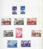 95279) RUSSIA -LOTTO DI FRANCOBOLLI -USATI-MLH*-1947 - Gebraucht