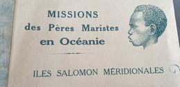 MISSION DES PERES MARISTES EN OCEANIE /ILES SALOMON MERIDIONALES /12 CARTES - Solomon Islands