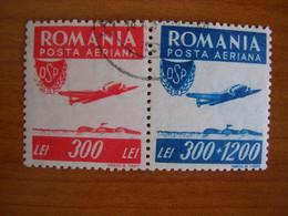 Roumanie Obl  N° PA 36/37 - Gebraucht