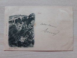 Bosnia And Herzegovina Jajce Grand Hotel  19th Century Circulate Postcard  Circuler - Bosnien-Herzegowina