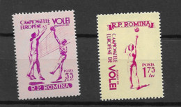 1955 MNH Romania Mi 1517-19, Postfris** - Ungebraucht