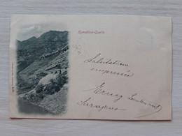 BOSNIA And Herzegovina 1898 Komadina Quelle - Jablanica Postcard,  Used Stamp Circulate Postcard  Circuler - Bosnien-Herzegowina