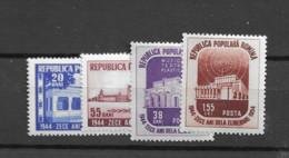 1954 MNH Romania Mi 1484-87 Postfris** - Ungebraucht