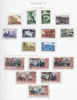 95280) RUSSIA -LOTTO DI FRANCOBOLLI -USATI-MLH*-1947 - Gebraucht