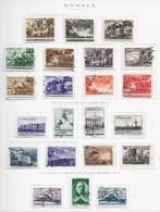 95281) RUSSIA -LOTTO DI FRANCOBOLLI -USATI-MLH*-1947 - Gebraucht