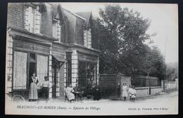CPA Eure - Beaumont-le-Roger (27170) – Epicerie Du Village – Cliché A. Vimard Bray – Animée. - Beaumont-le-Roger