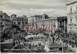 CPM Catania Place Stesicoro Et Monument A Bellini - Catania