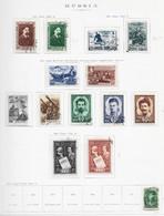 95282) RUSSIA -LOTTO DI FRANCOBOLLI -USATI-MLH*-1948 - Gebraucht