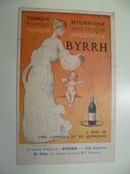 Carte Postale Ancienne Publicitaire BYRRH Concours D'affiches 5ème Prix / Mlle HENNING - Publicité