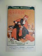 Carte Postale Ancienne Publicitaire BYRRH Concours D'affiches 5ème Prix / Paul SHAAN - Publicité
