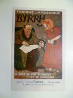 Carte Postale Ancienne Publicitaire BYRRH Concours D'affiches 5ème Prix / Hector DUMAS - Publicité