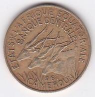 Cameroun, Afrique Equatoriale, 10 FRANCS 1967 Bronze-nickel-aluminium. KM# 2a - Cameroon