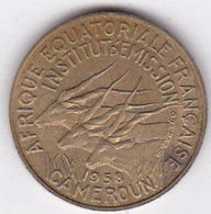 Cameroun, Afrique Equatoriale Française, 10 FRANCS 1958 Bronze-nickel-aluminium. KM# 11 - Cameroon