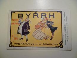 Carte Postale Ancienne Publicitaire BYRRH Concours D'affiches 5ème Prix / ALBERTILUS - Publicité