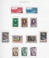95283) RUSSIA -LOTTO DI FRANCOBOLLI -USATI-MLH*-1948 - Gebraucht