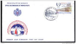 COLLOQUE INTERNATIONAL SUR LA POLUTION MARINE -  FDC  MONACO De 1998 ( E 4 ) - Polucion