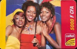CONGO  -  Prepaid  -  3 Women  -  5 000 F CFA - Congo