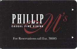 Pearl River Resort & Casino - Choctaw MS - Hotel Room Key Card - Cartas De Hotels