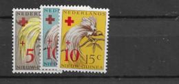 1950 Nederlands Nieuw Guinea NVPH 38-40, Postfris** - Nouvelle Guinée Néerlandaise