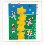 2000 Allem. Fed. Deutschland , Germany   Mi. 2114 ** MNH  Booklet Stamp  EUROPA  Kinder Bauen Sternenturm - Neufs