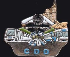 69969-Pin's.CDD.Transport.bus.metro.Marseille. - Trasporti