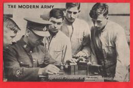 THE MODERN ARMY      APPRENTICE TRADESMEN AT AN ARMY TECHNICAL SCHOOL - Otros