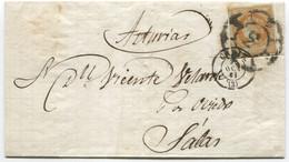 1861. Envuelta De Cadiz A Salas - Briefe U. Dokumente