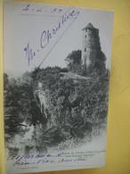 24 7419 CPA 1903 - 24 RUINES DU CHATEAU D'AILLAC ET LA GOURGUE LEGENDAIRE. - Otros Municipios