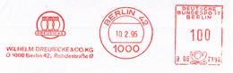 Freistempel Kleiner Ausschnitt 352 Eulen - Marcofilia - EMA ( Maquina De Huellas A Franquear)