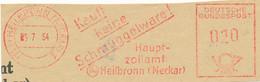 Freistempel Kleiner Ausschnitt 361 Kauft Keine Schmuggelware Zoll - Marcofilia - EMA ( Maquina De Huellas A Franquear)