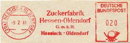 Freistempel Kleiner Ausschnitt 369 Zuckerfabrik - Affrancature Meccaniche Rosse (EMA)