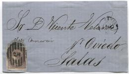 1869. Frontal De Cádiz A Salas - Briefe U. Dokumente