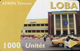 CONGO  -  Prepaid  -  AFRIPA Telecom - BOBA  - 1000 Unités - Congo